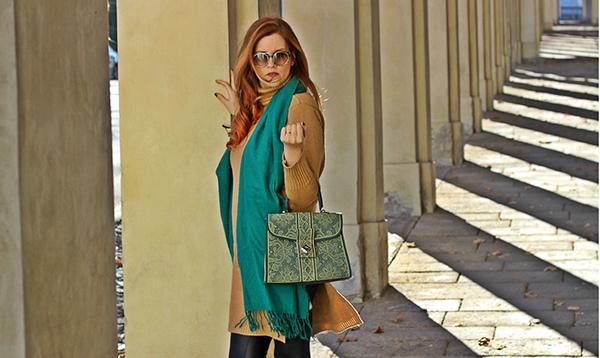 elisabettabertolini-fashion-blogger-italia-maxi-sciarpa-verde-occhiali-da-sole-tom-ford-giarre