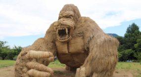 In Giappone il Wara Art Festival, dove la paglia prende vita