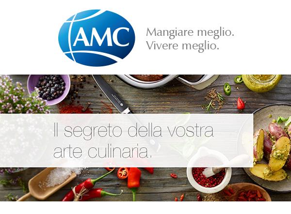 Cucinare sano e con gusto con amc what people want for Cucinare con amc
